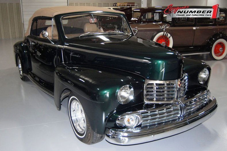 1946 Lincoln Convertible Street Rod 1