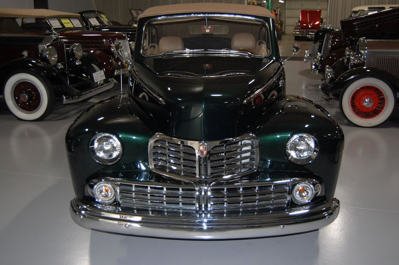 1946 Lincoln Convertible Street Rod 2