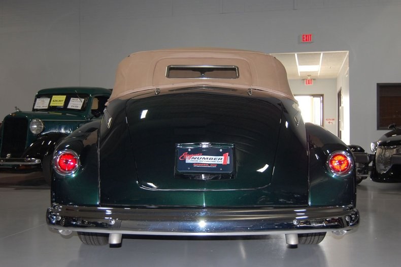 1946 Lincoln Convertible Street Rod 3
