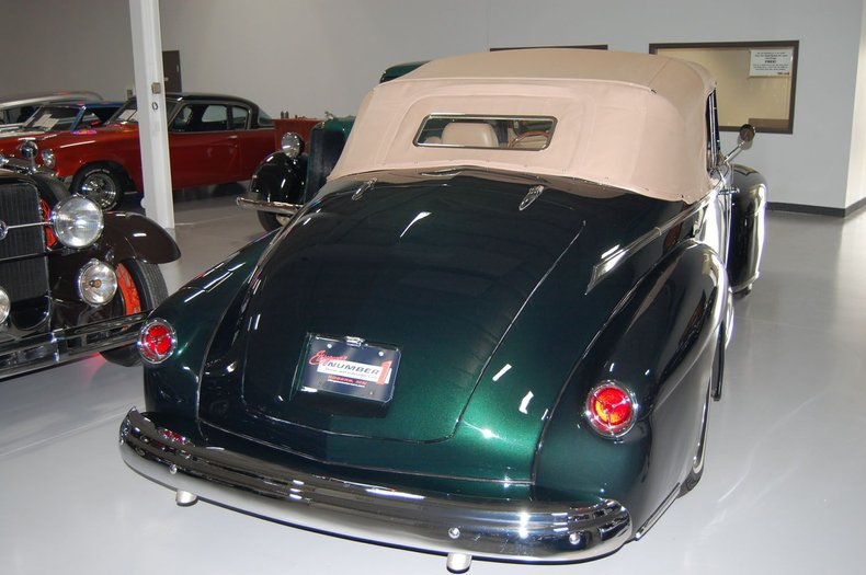 1946 Lincoln Convertible Street Rod 8