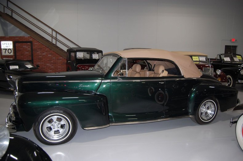 1946 Lincoln Convertible Street Rod 5