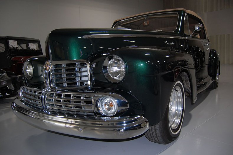 1946 Lincoln Convertible Street Rod 16