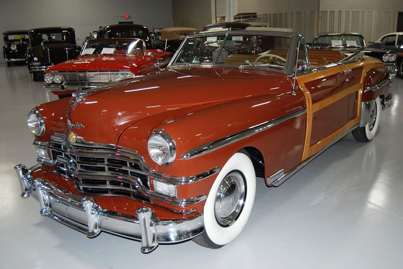 1949 Chrysler Town & Country Woody Convertible 7