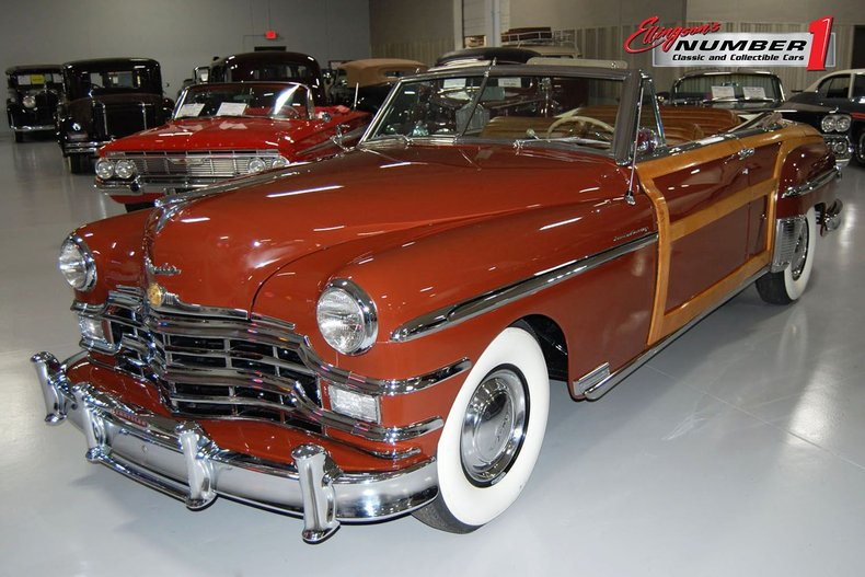 1949 Chrysler Town & Country Woody Convertible 1