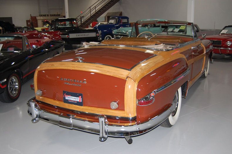1949 Chrysler Town & Country Woody Convertible 13
