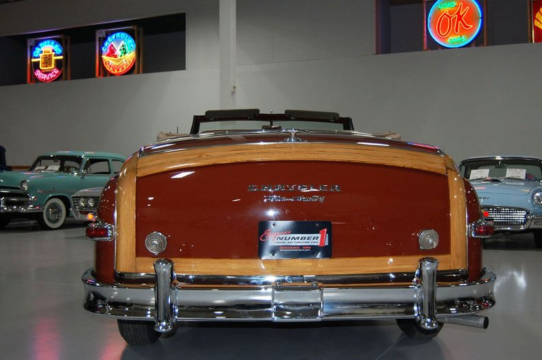 1949 Chrysler Town & Country Woody Convertible 3