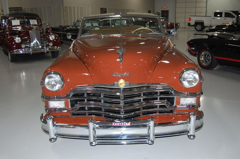 1949 Chrysler Town & Country Woody Convertible 2