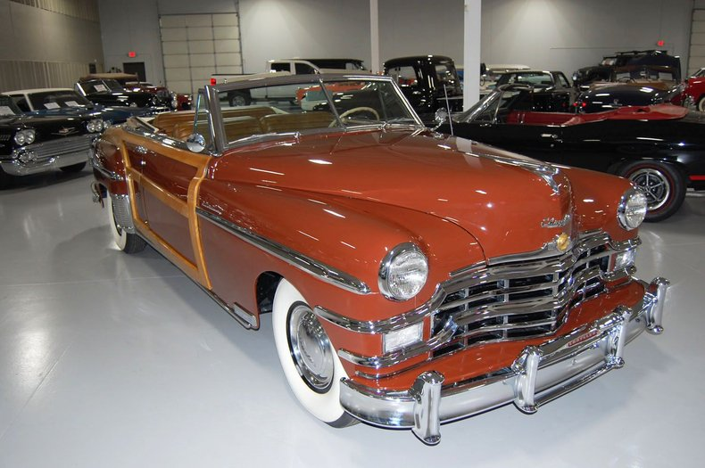 1949 Chrysler Town & Country Woody Convertible 6