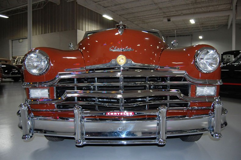 1949 Chrysler Town & Country Woody Convertible 11