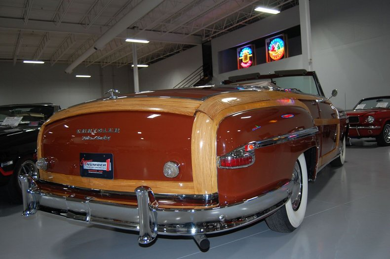 1949 Chrysler Town & Country Woody Convertible 25