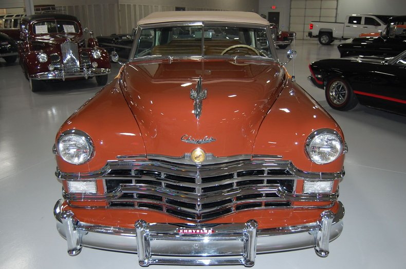 1949 Chrysler Town & Country Woody Convertible 14
