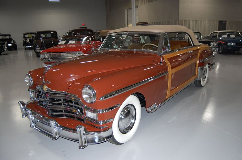 1949 Chrysler Town & Country Woody Convertible 19