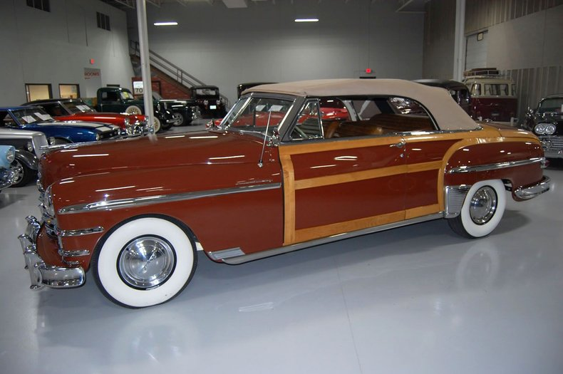 1949 Chrysler Town & Country Woody Convertible 16