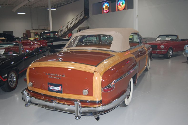 1949 Chrysler Town & Country Woody Convertible 24