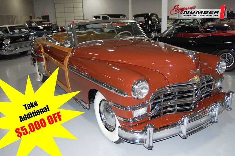 1949 Chrysler Town & Country Woody Convertible