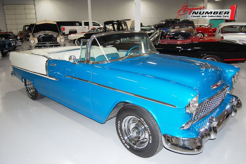1955 Chevrolet Bel-Air Convertible