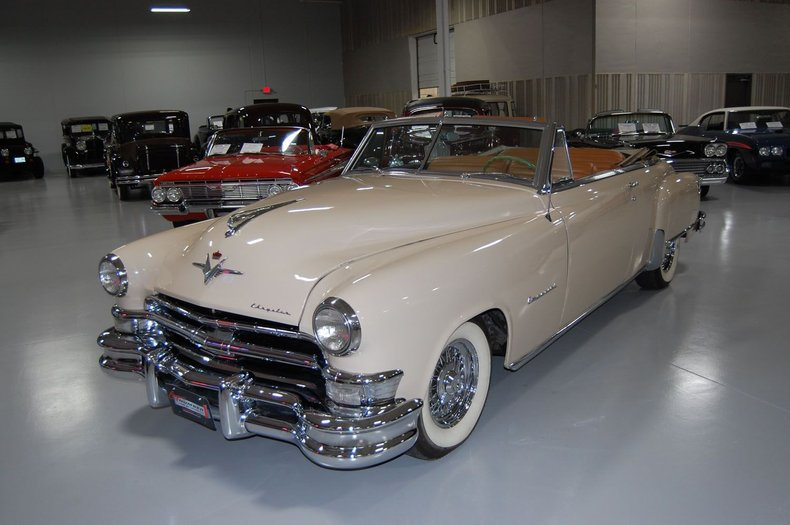 1951 Chrysler Imperial Convertible 8