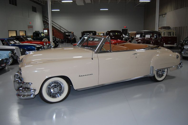 1951 Chrysler Imperial Convertible 17