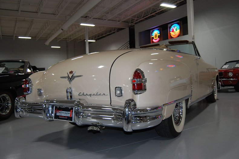 1951 Chrysler Imperial Convertible 20