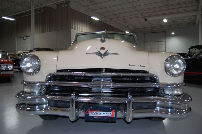 1951 Chrysler Imperial Convertible 12