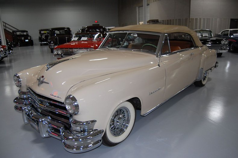1951 Chrysler Imperial Convertible 22