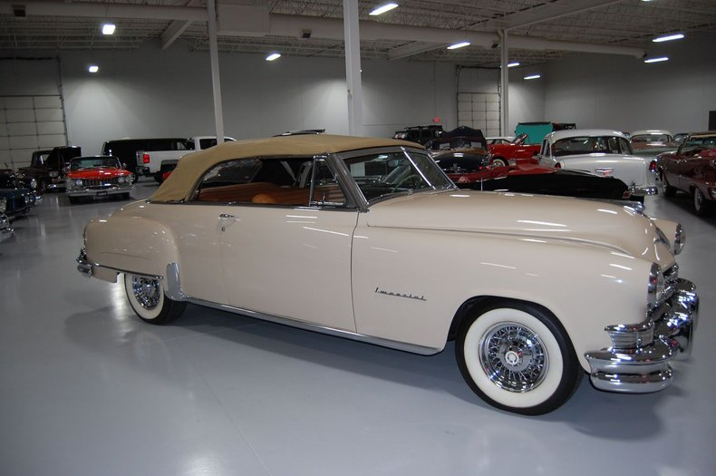 1951 Chrysler Imperial Convertible 21