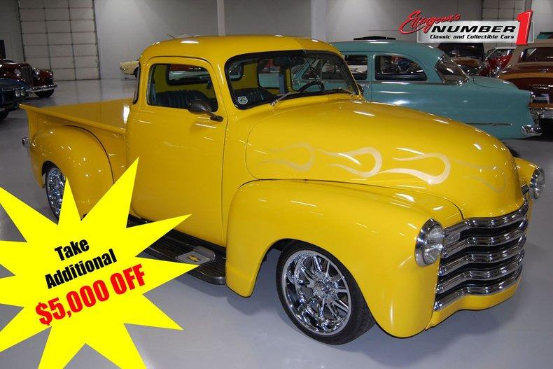 1952 Chevrolet 3100 Pickup Resto-Mod