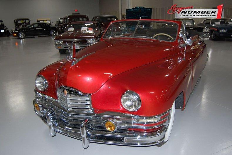 1948 Packard Victoria Convertible