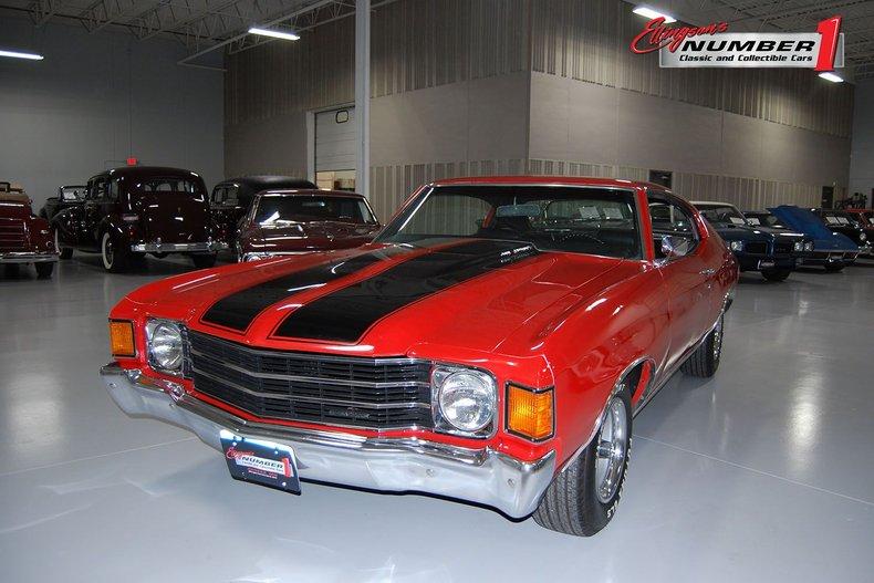 1972 Chevrolet Chevelle Malibu Tribute