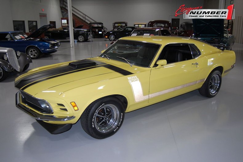 1970 Ford Boss 302 Mustang