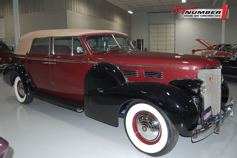 1938 Cadillac Convertible 4dr Sedan