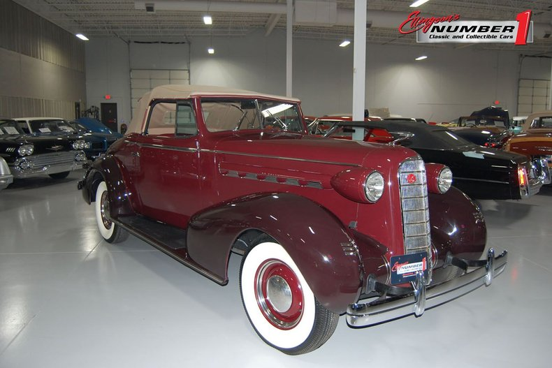 1936 LaSalle Convertible Coupe