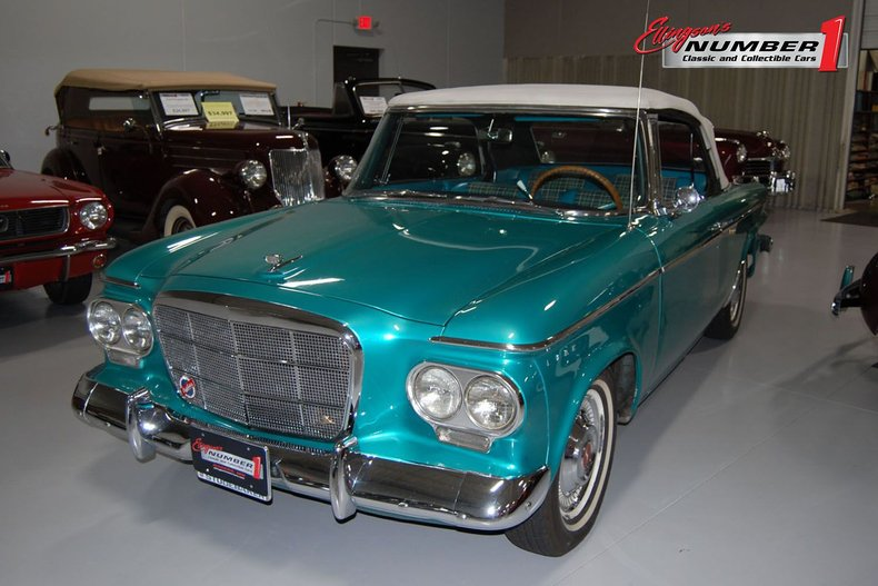 1962 Studebaker Lark Regal Convertible
