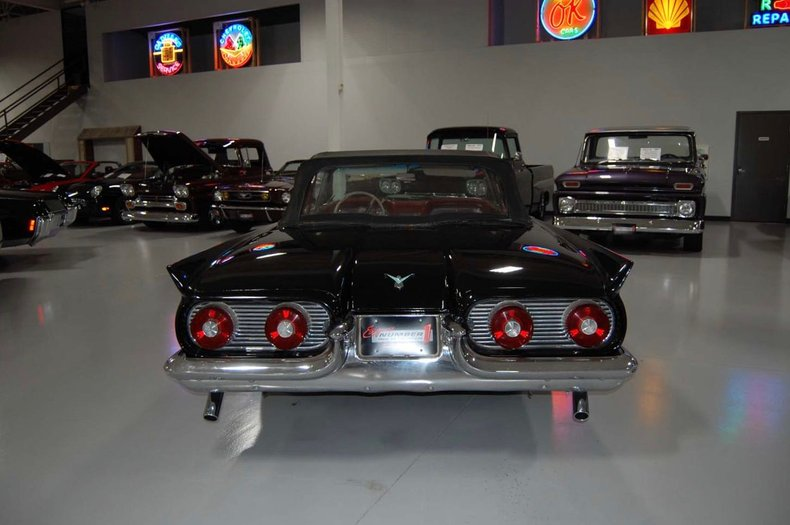 1959 Ford Thunderbird Convertible 12