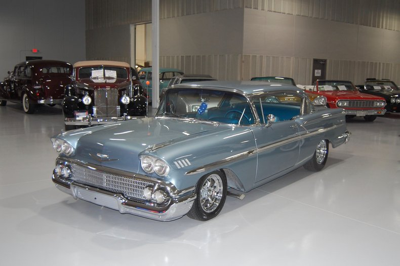 1958 Chevrolet Bel Air 2Dr Hdtp