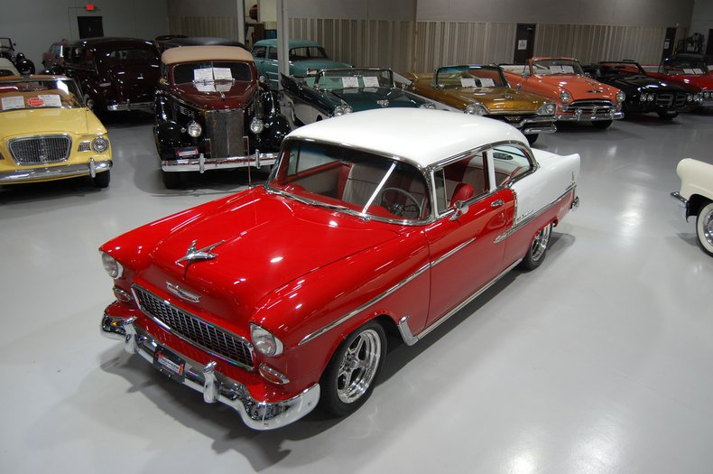 1955 Chevrolet Bel Air 2 Door Sedan Custom