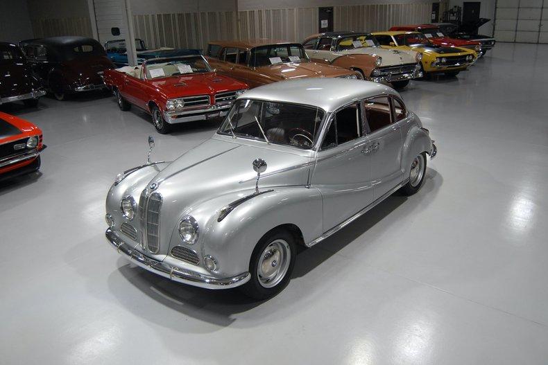 1957 BMW 502 Sedan