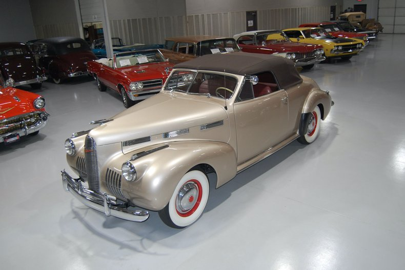 1940 LaSalle Series 52 Special Convertible Coupe