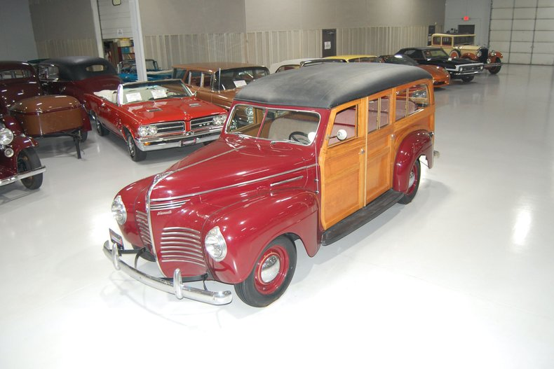 1940 Plymouth Deluxe Woody Station Wagon