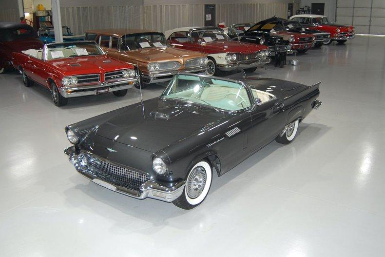 1957 Ford Thunderbird E-Code Convertible