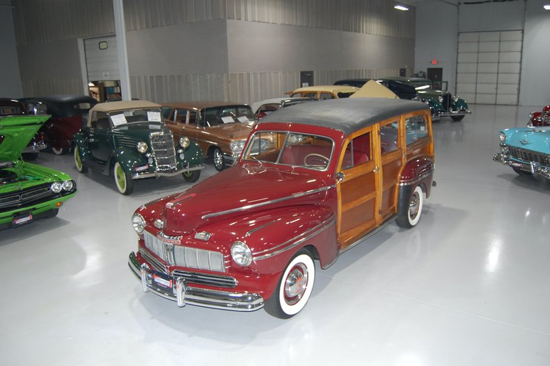 1946 Mercury 69M Woody Station Wagon