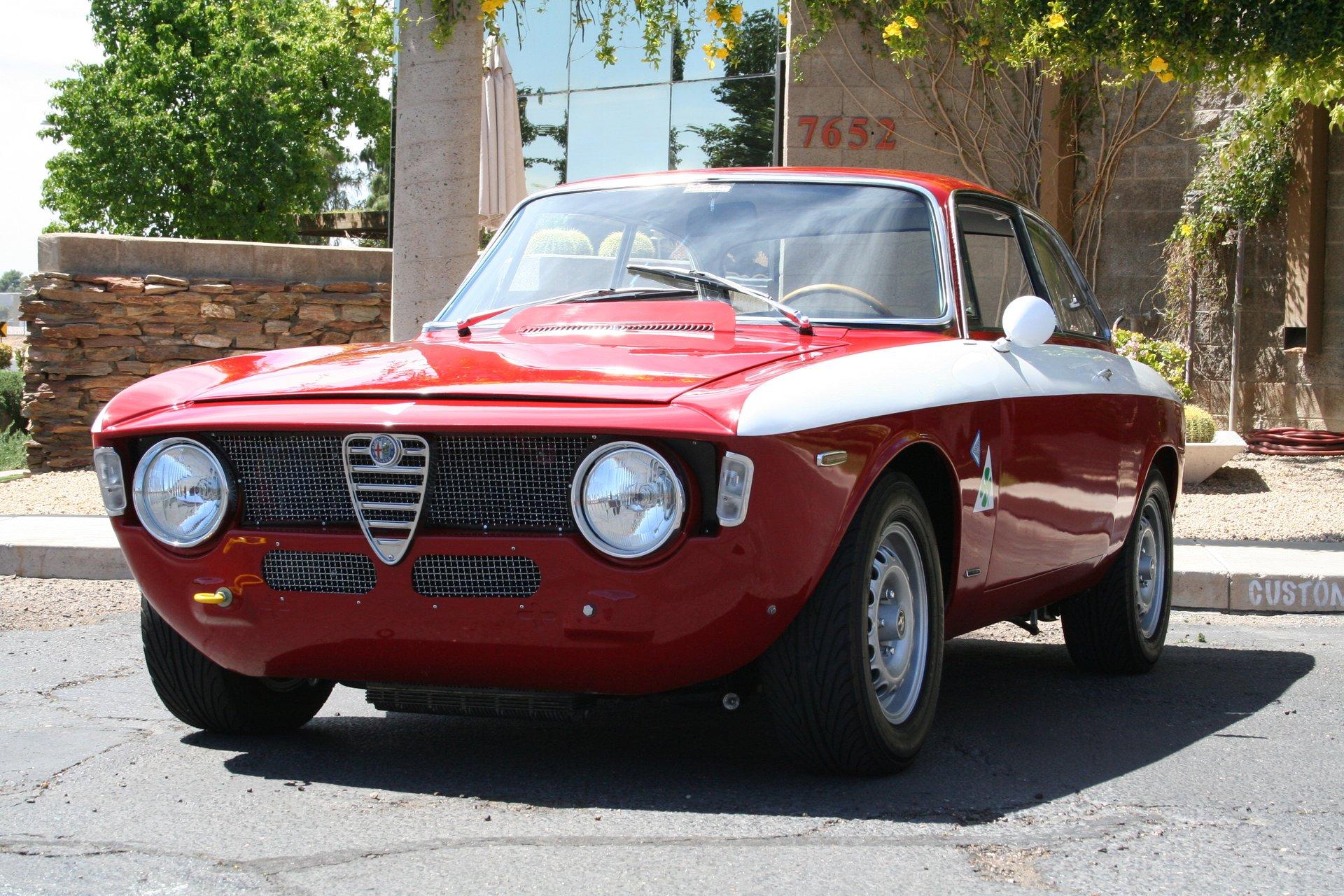 1967 alfa romeo gtv lightweight