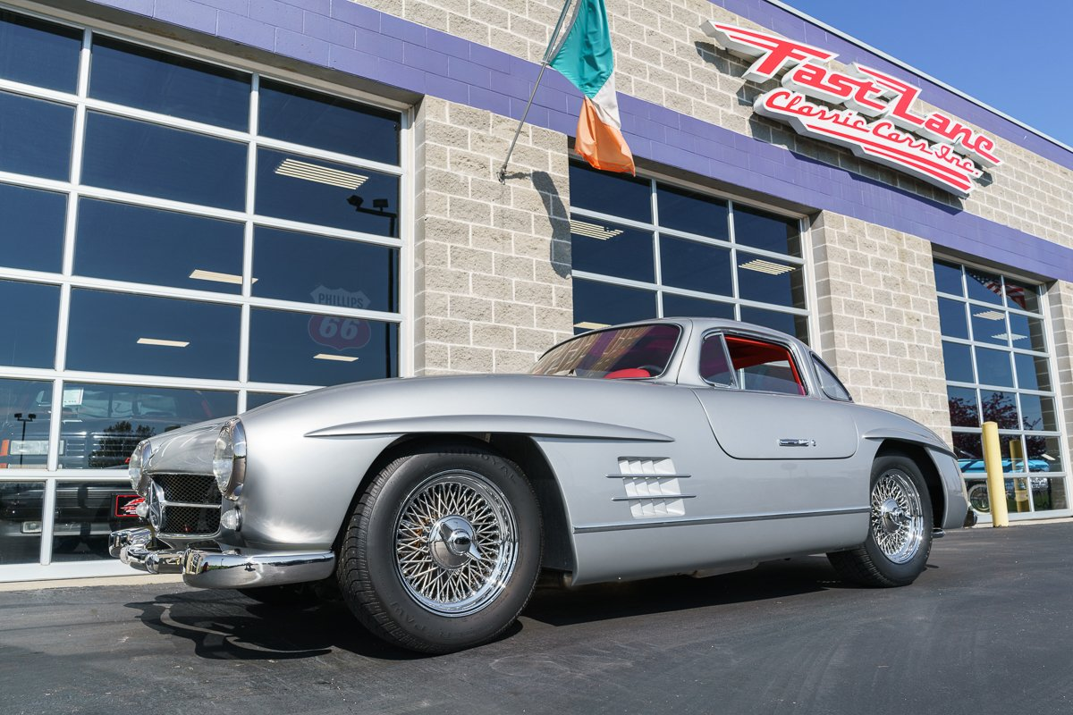 1955 mercedes benz gullwing 300sl replica