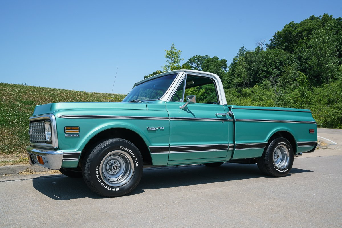 1971 chevy truck 350 specs