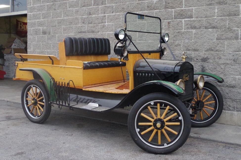 1923 ford model t huckster
