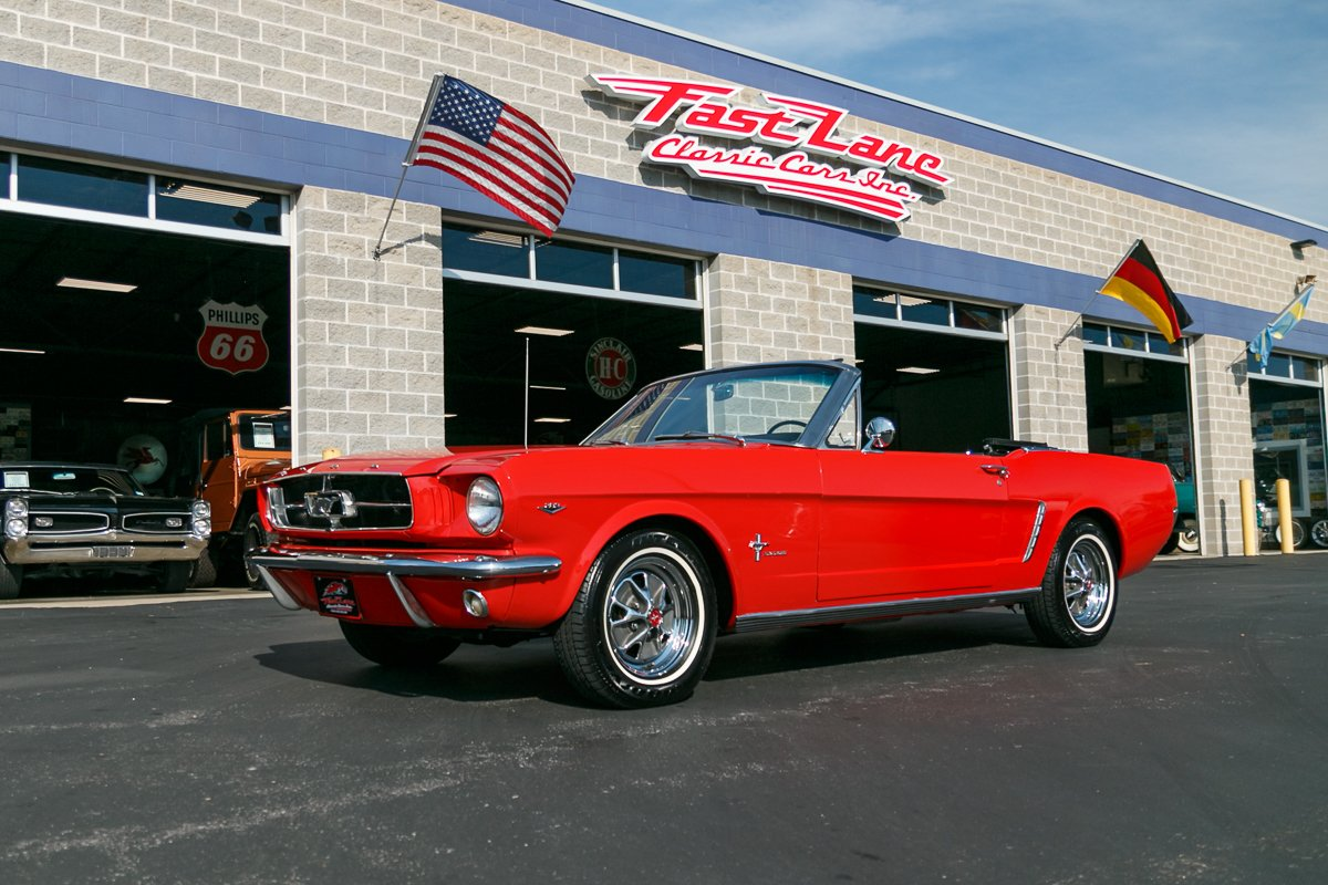 1965 ford mustang