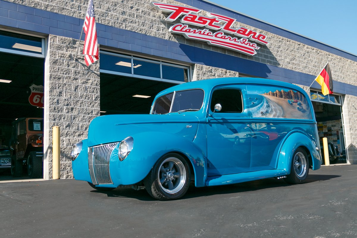 1940 ford panel truck