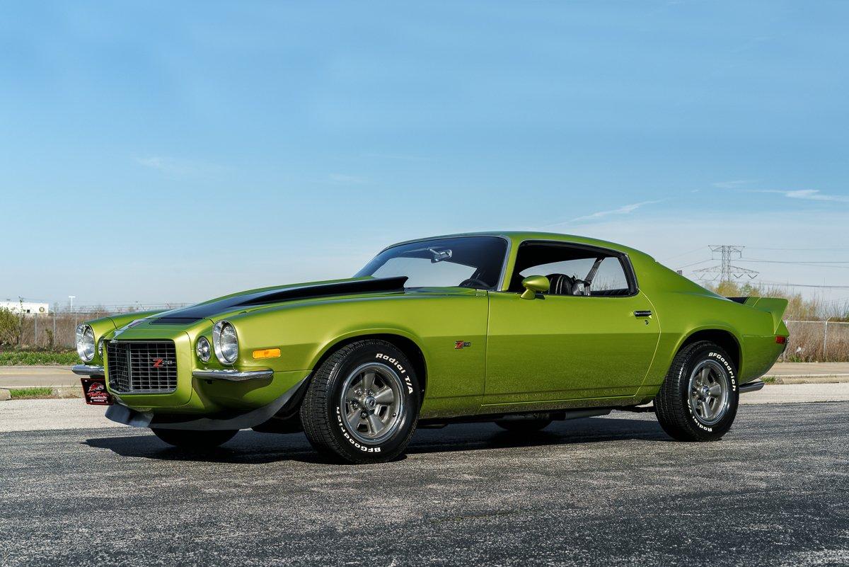 1971 chevrolet camaro z 28