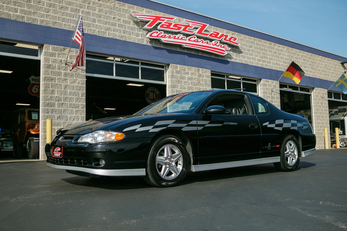 2001 chevrolet monte carlo ss pace car