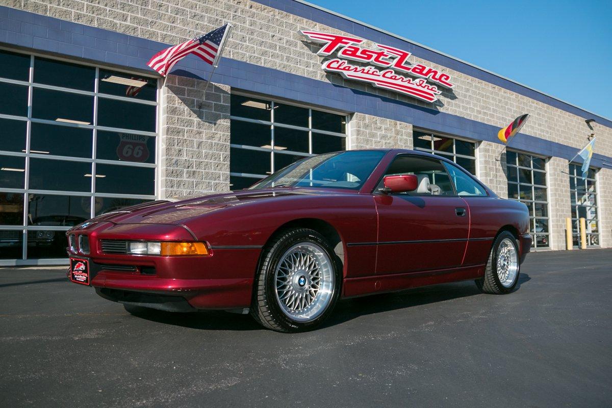 1991 bmw 850ci